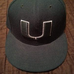 New Era Miami Hurricanes Hat